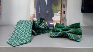 corbata y pajarita verde con pañuelo 2019 conecta