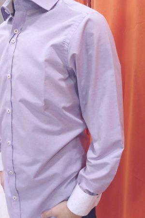 Camisa estampada topitos