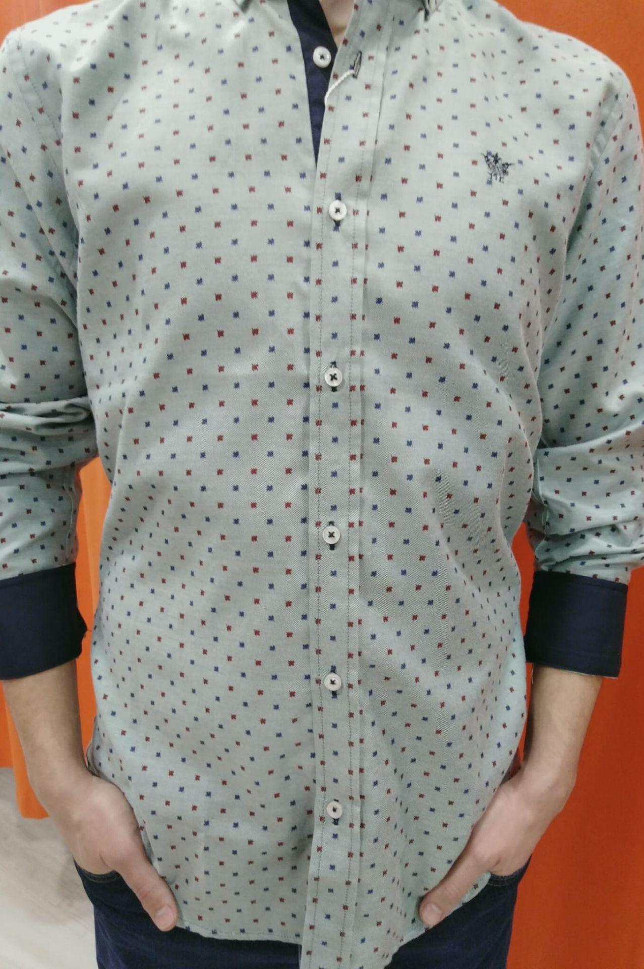 camisa topitos colores cuerpo