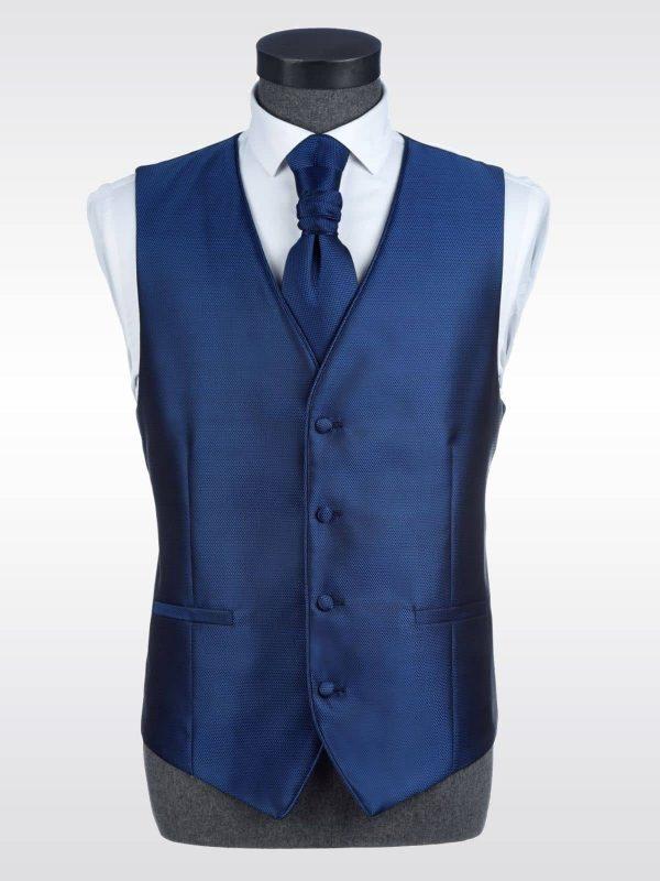 Chaleco azul para traje Conecta Moda Joven