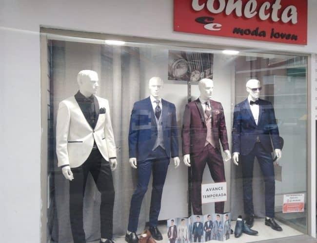 Tienda de trajes Conecta Moda Joven en calle Doctor Castroviejo Granada