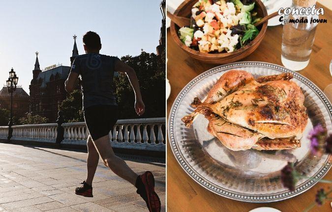Haz ejercicio y lleva una dieta sana para mejorar tu estilo personal