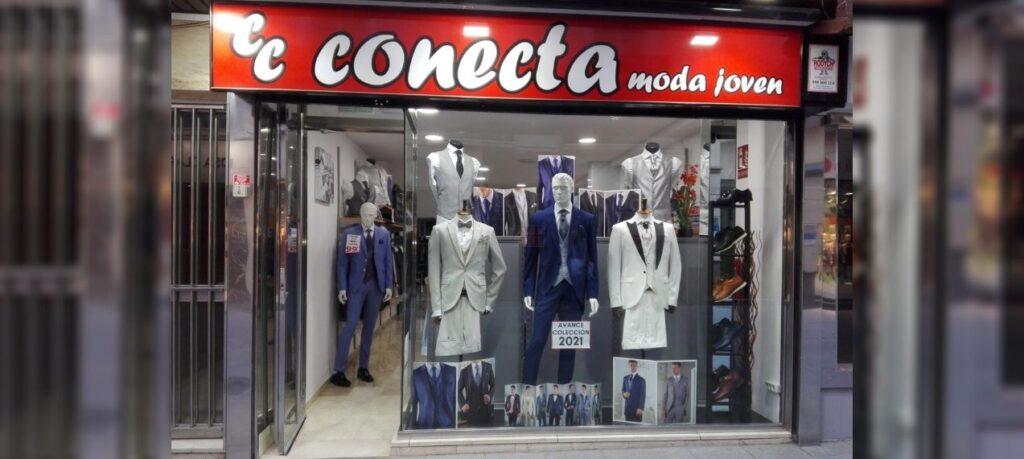 Tienda de trajes de novio en Granada centro Conecta Moda Joven
