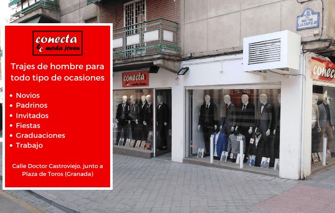 Tienda de trajes de novio en Granada Conecta Moda Joven