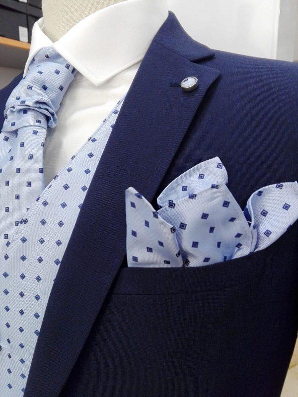 Traje liso azul marino Conecta Moda Joven Tienda de trajes en Granada