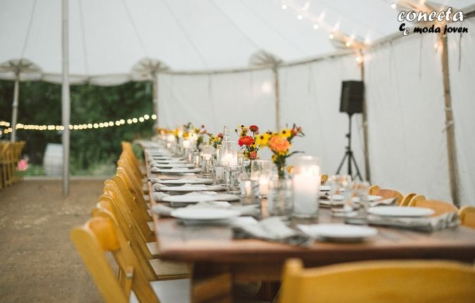 Carpas y toldos para bodas al aire libre