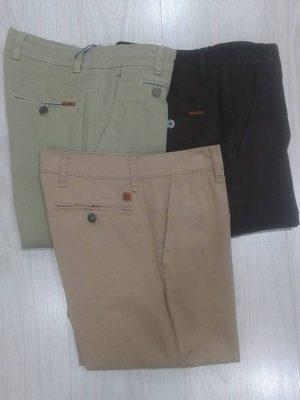 Pantalones chinos de vestir en los colores beige, caqui y marrón Conecta Moda Joven Granada
