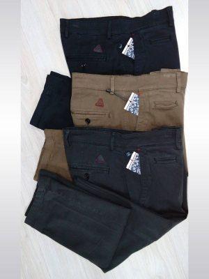 Pantalones chinos de vestir en colores negro, marrón y gris entallados slim fit Conecta Moda Joven Granada