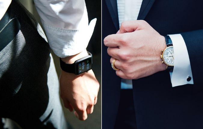 Mejor utilizar un reloj clásico que uno inteligente